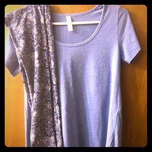 LuLaRoe T-shirt and Tween Leggings